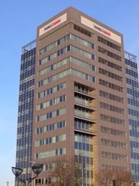 Hochhaus mit Targobank-Logo