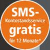 Bild: SMS-Kontostandsservice gratis für 12 Monate
